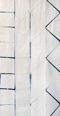 Itajime textile